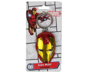 Iron Man Face Colored Pewter Keychain Monogram из фильма Avengers