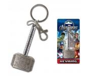 Thor Hammer Pewter Keychain Monogram из фильма Avengers