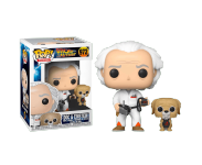 Dr. Emmett Brown with Einstein (Эксклюзив Walmart) из фильма Back to the Future