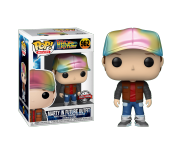 Marty McFly in Future Outfit Metallic (Эксклюзив Target) из фильма Back to the Future