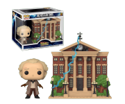 Dr. Emmett Brown with Clock Tower Town из фильма Back to the Future