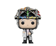 Dr. Emmett Brown with Helmet из фильма Back to the Future