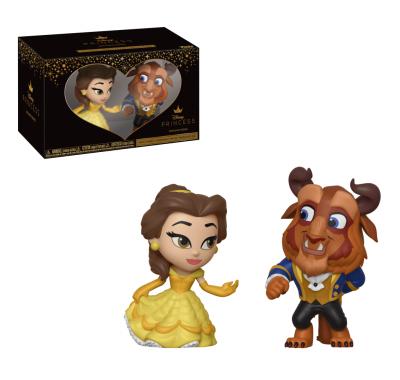 Белль и Чудовище (Belle and Beast mystery minis 2-Pack) из мультика Красавица и Чудовище