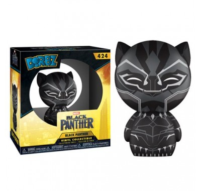 Чёрная Пантера дорбз (Black Panther Dorbz) из фильма Черная Пантера Марвел