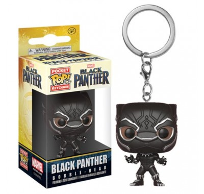 Чёрная Пантера брелок (Black Panther Keychain) из фильма Черная Пантера Марвел