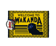 Welcome to Wakanda door mat Pyramid из комиксов Black Panther Marvel