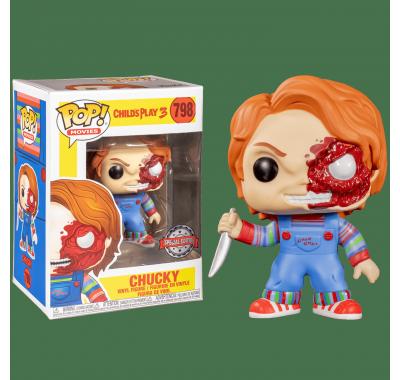 Чаки поврежденный (Chucky Battle Damaged (Эксклюзив Walmart)) из фильма Детские игры