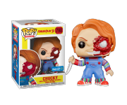 Chucky Battle Damaged со стикером (Эксклюзив Walmart) из фильма Child's Play