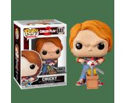 Chucky with Scissors and Jack in the Box со стикером (Эксклюзив FYE) из фильма Child's Play