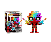 Birthday Glasses Deadpool со стикером (Эксклюзив Target) из комиксов Deadpool