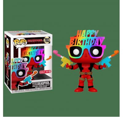 Дэдпул в праздничных очках со стикером (Birthday Glasses Deadpool (Эксклюзив Target)) из комиксов Дэдпул