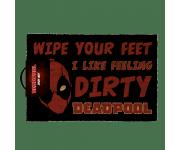 Deadpool Dirty door mat Pyramid из комиксов Marvel Comics