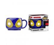 Deadpool Blue mug из комиксов Marvel
