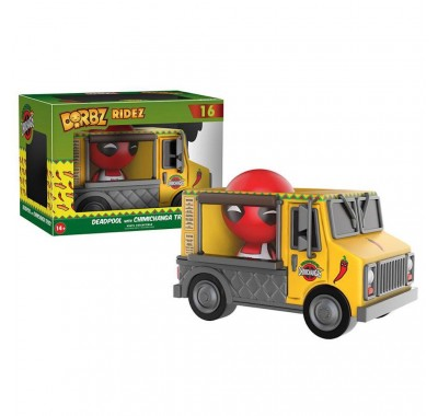 Дэдпул с чимичинга грузовиком Дорбз (Deadpool with Chimichanga Truck Dorbz Ridez) из комикcов Марвел