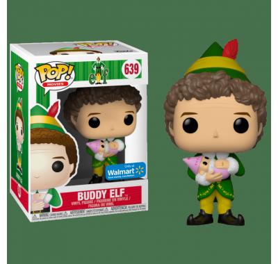 Бадди Эльф с ребенком со стикером (Buddy Elf with Baby (Эксклюзив Walmart)) из фильма Эльф