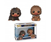 Baby Niffler Brown and Tan 2-pack из фильма Fantastic Beasts: The Crimes of Grindelwald