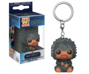 Baby Niffler Grey keychain из фильма Fantastic Beasts: The Crimes of Grindelwald