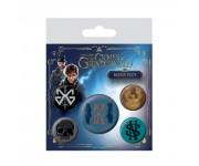 Fantastic Beasts: The Crimes of Grindelwald Badge Pack из фильма Fantastic Beasts: The Crimes of Grindelwald