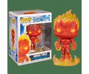 Human Torch из мультсериала Fantastic Four