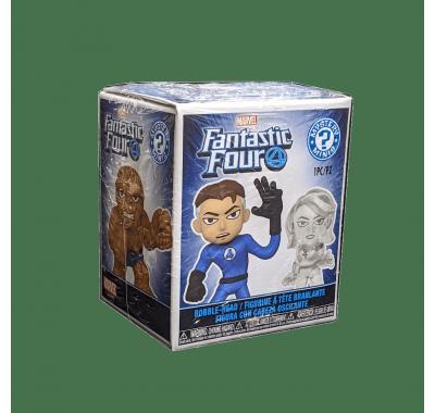 Фантастическая Четвёрка ЗАКРЫТАЯ коробочка мистери минис (Fantastic Four blind box mystery minis) из комиксов Марвел Фантастическая Четвёрка