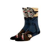 Jason Voorhees 360 Character Socks из фильма Friday the 13th