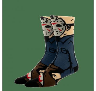Джейсон Вурхиз носки (Jason Voorhees 360 Character Socks) из фильма Пятница, 13-е