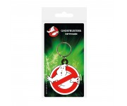 Ghostbusters Logo Rubber Keychain из фильма Ghostbusters