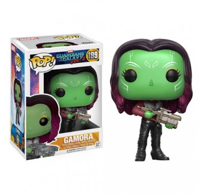 Гамора (Gamora) из фильма Стражи Галактики. Часть 2 Марвел