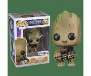 Groot with Bomb со стикером (Эксклюзив Toys R Us) из фильма Guardians of the Galaxy Vol. 2