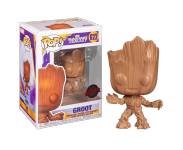 Baby Groot Wood Deco (Эксклюзив Entertainment Earth) из комиксов Marvel