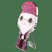 Альбус Дамблдор значок 10 см (Albus Dumbledore 4-inch Enamel Pin) из фильма Гарри Поттер