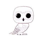 Hedwig 4-inch Enamel Pin (Chase) из фильма Harry Potter