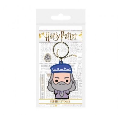Брелок Альбус Дамблдор чиби резиновый (Albus Dumbledore Chibi Rubber Keychain) из фильма Гарри Поттер