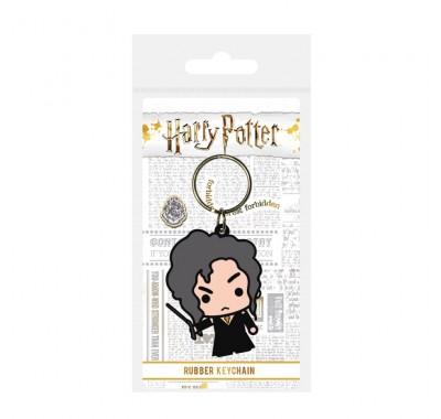 Брелок Беллатриса Лестрейндж чиби резиновый (Bellatrix Lestrange Chibi Rubber Keychain) из фильма Гарри Поттер