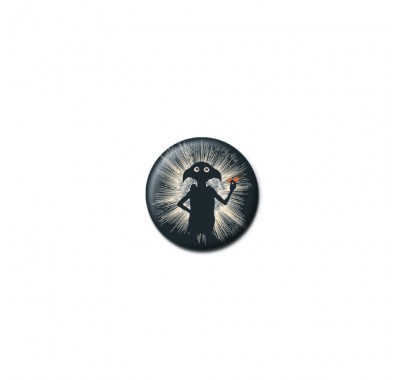 Значок Добби силуэт (Dobby Silhouette Button Badge) из фильма Гарри Поттер