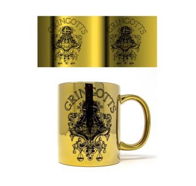 Кружка Гринготтс металлическая (Gringotts Metallic Mug) из фильма Гарри Поттер