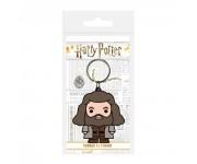 Hagrid Chibi Rubber Keychain из фильма Harry Potter