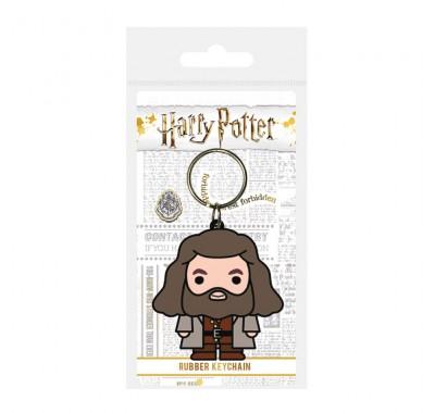 Брелок Рубеус Хагрид чиби резиновый (Hagrid Chibi Rubber Keychain) из фильма Гарри Поттер