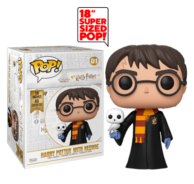 Гарри Поттер с Буклей 45 см (Harry Potter with Hedwig 18-inch) из фильма Гарри Поттер