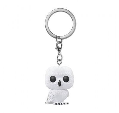 Букля флокированный брелок (Hedwig flocked Keychain (Эксклюзив Hot Topic и Box Lunch)) из фильма Гарри Поттер