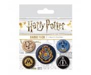 Harry Potter Hogwarts Badge Pack из фильма Harry Potter