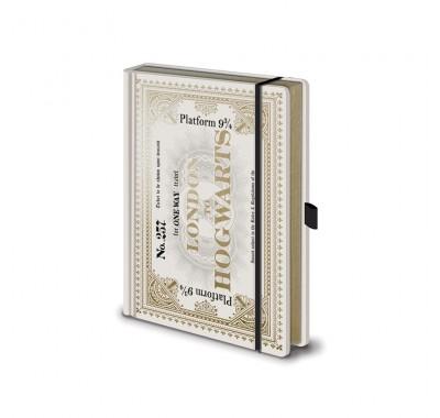 Ежедневник Билет на Хогвартс-экспресс (Hogwarts Express Ticket Notebook) из фильма Гарри Поттер