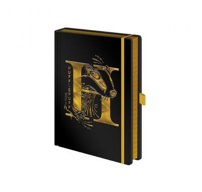 Ежедневник Пуффендуй (Hufflepuff Foil Notebook) из фильма Гарри Поттер