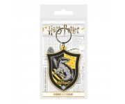 Hufflepuff Crest Rubber Keychain из фильма Harry Potter