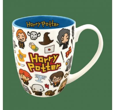 Кружка Гарри Поттер коллаж (Harry Potter Kawaii Collage Mug) из фильма Гарри Поттер
