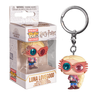 Полумна Лавгуд в очках брелок (Luna Lovegood With Glasses Keychain) из фильма Гарри Поттер