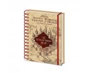 The Marauders Map Notebook из фильма Harry Potter