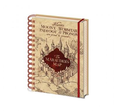 Ежедневник Карта мародеров (The Marauders Map Notebook) из фильма Гарри Поттер