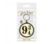 Platform 9 3 4 Rubber Keychain из фильма Harry Potter
