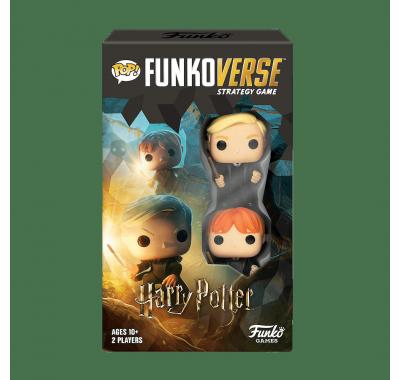 Рон Уизли и Драко Малфой настольная игра (Ron Weasley and Draco Malfoy Funkoverse 2-Pack) из фильма Гарри Поттер